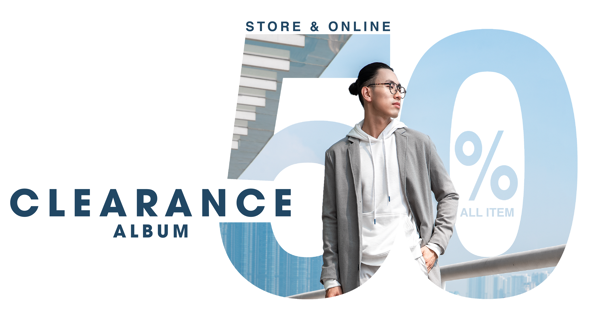 CLEARANCE SALE - Last chance to buy - SALE ALL 50%