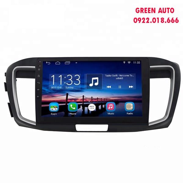 Màn hình DVD Android Honda Accord theo xe cắm sim 4G