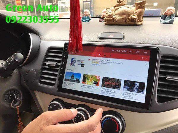 Màn hình DVD Android cho Kia Morning Cắm Sim 4G