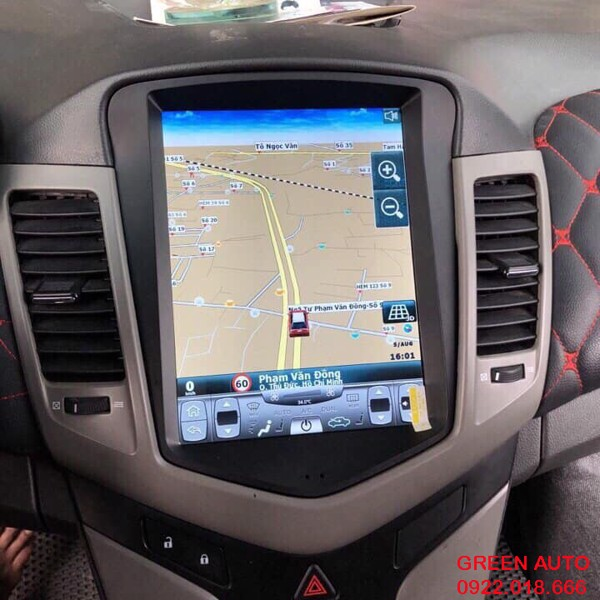 Màn Hình Android Phong Cách Tesla Xe Chevrolet Cruze