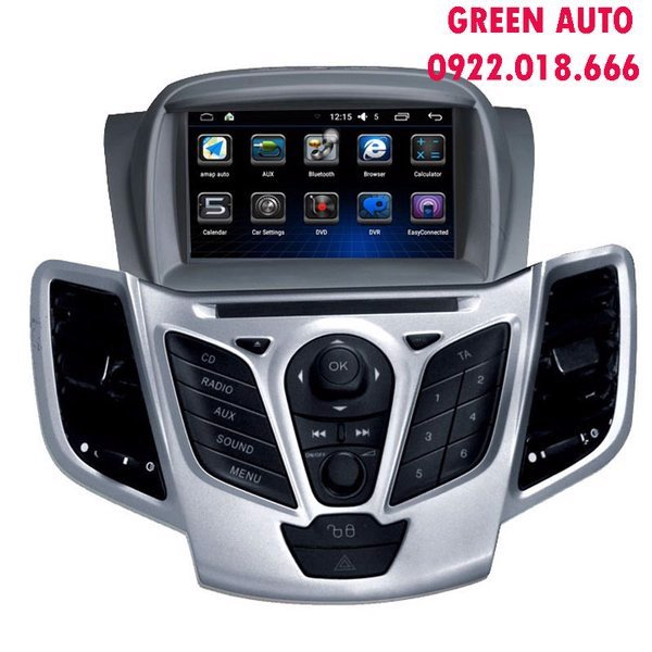DVD Android cho xe Ford Ecosport theo xe cắm giắc zin 100%