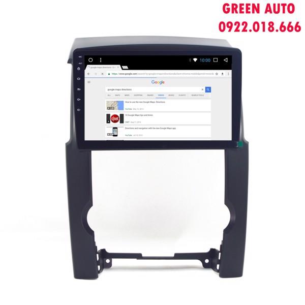 Màn hình DVD Android cho Kia Sorento 2008-2014 màn 10 inch cắm sim 4G