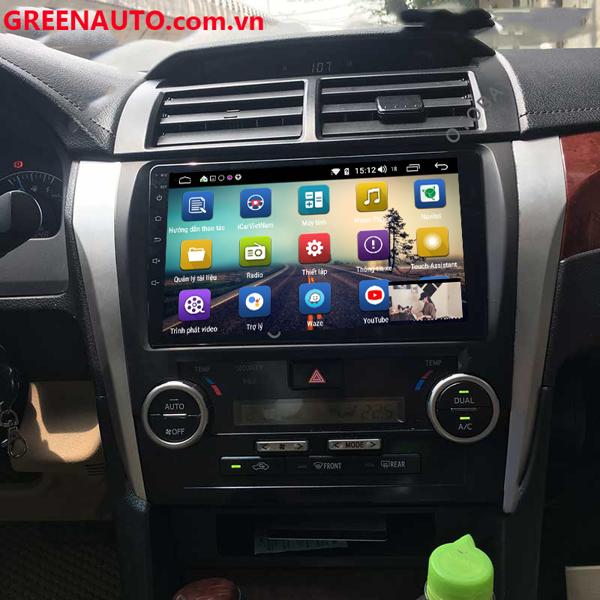 Màn hình DVD Android Toyota Camry 2013,2014 cắm sim 4G