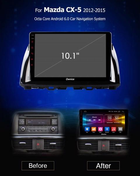 DVD Ownice C500+ Mazda CX5