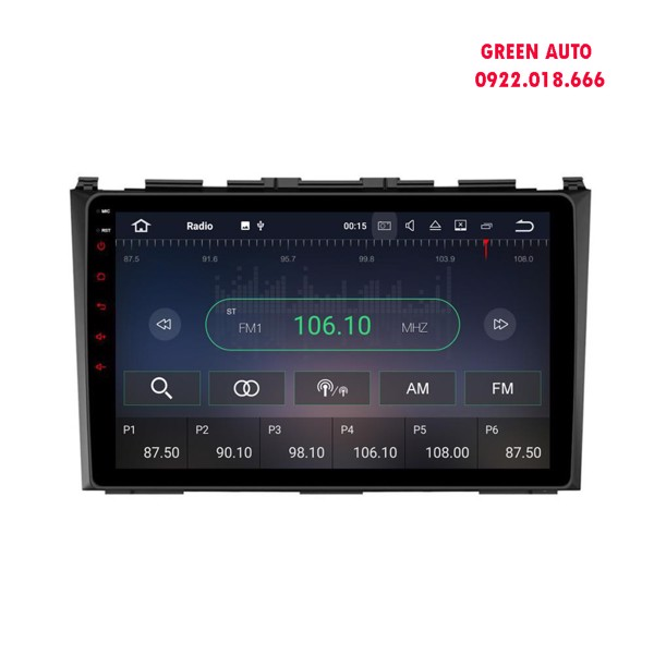 Màn hình DVD Android Honda Crv 2006,2007,2008,2009,2010.2011,2012