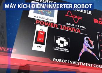 Có Máy kích điện Robot không lo mất điện