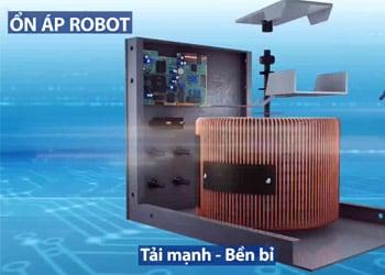 Ổn áp Robot thiết kế tải mạnh - hoạt động bền bỉ