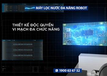 Máy lọc nước Robot - thiết kế độc quyền với bộ vi mạch đa năng