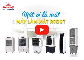 Máy làm mát Robot - Mát ơi là mát