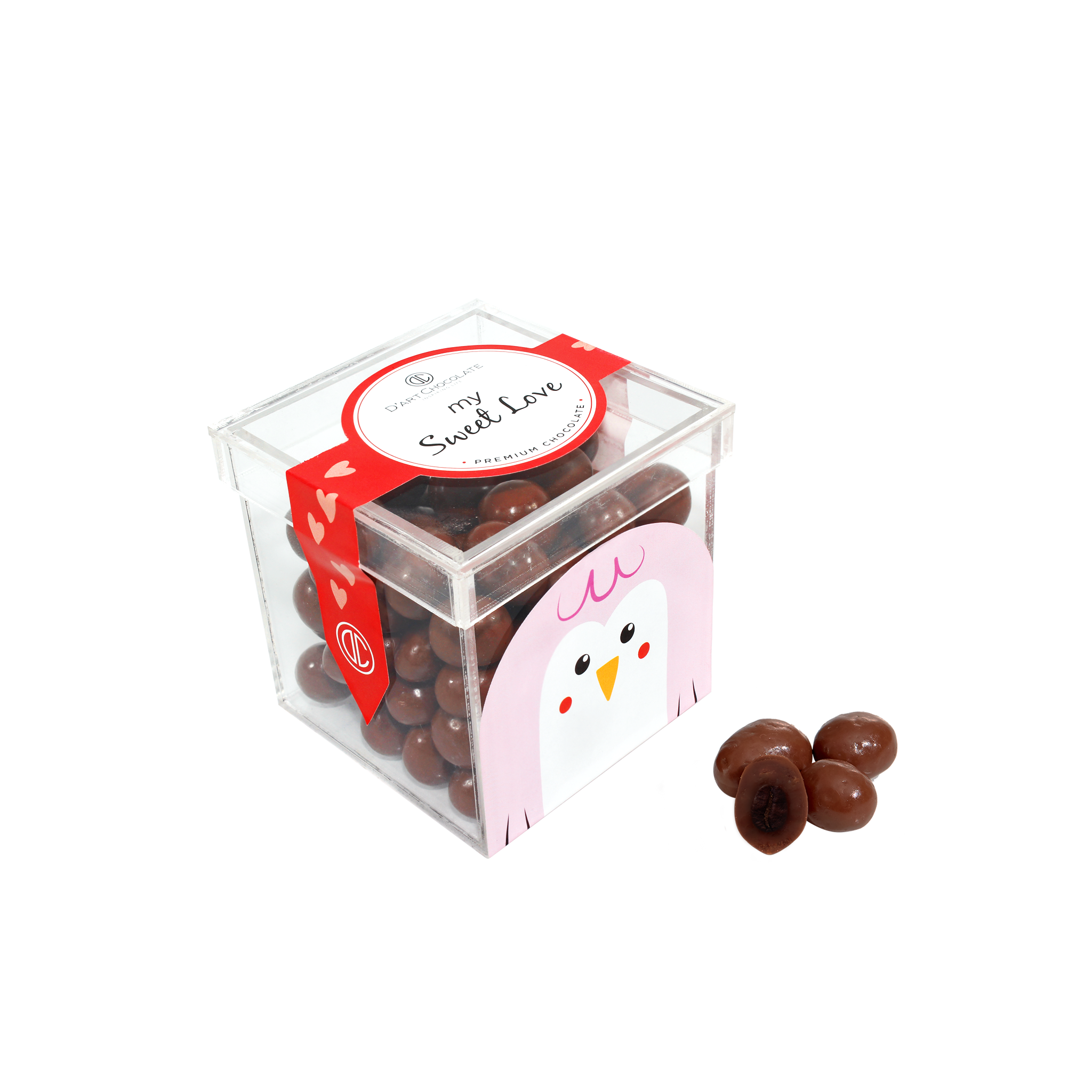 CHOCOLATE COVERED