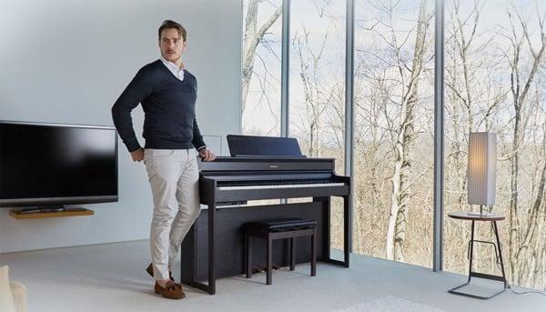 Thiết kế đàn piano điện Roland