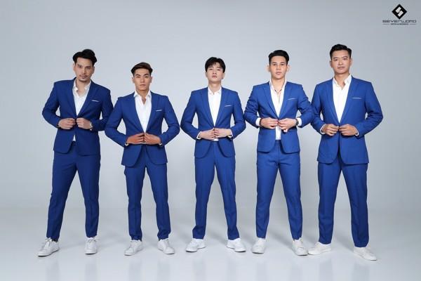 seven uomo tài trợ vest cho fc nghệ sĩ