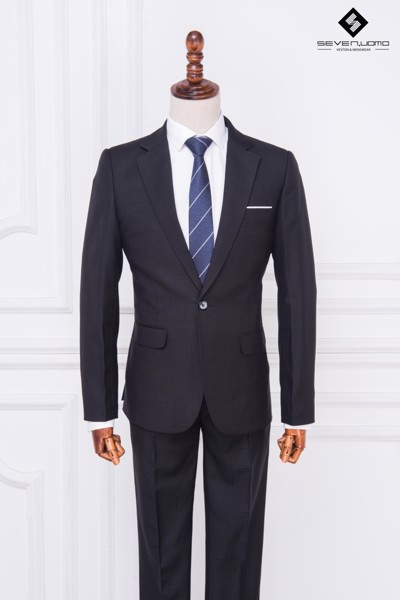 vest cưới đen