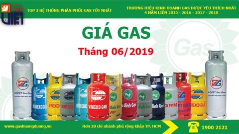 Giá Gas Hướng Dương Tháng 06/2019