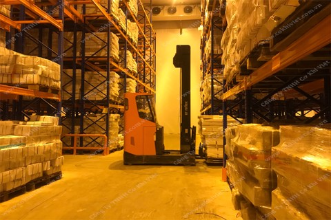 Double Reach Pallet Racking System