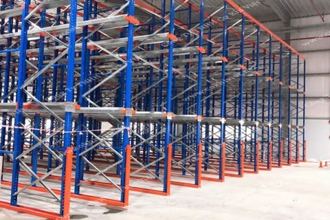 DRIVE-IN RACKING SYSTEM IN BAC NINH PROVINCE