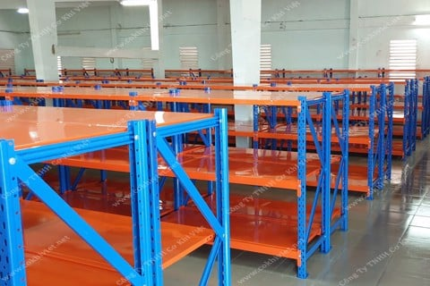 Checkup, handover and putting into use racking system for Binh Minh Plasco warehouses.