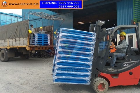 The most reliable manufacturer and consultant steel pallet in the Vietnam market