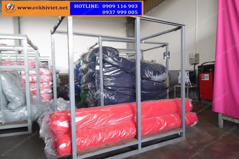 Producing Steel Pallets For Garment Industry