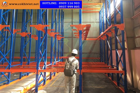 Acceptance and testing heavy duty rack in Cu Chi, HCM City