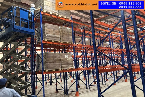 Acceptance, handover and putting into use selective racking system in Binh Duong
