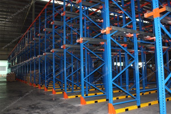 TESTING & COMMISSIONING DRIVE-IN RACKING SYSTEM IN HAI DUONG INDUSTRIAL ZONE
