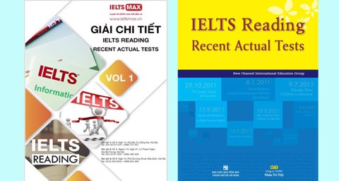 Giải chi tiết sách IELTS Reading Recent Actual Tests Vol 1