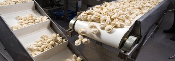 Băng tải trong ngành chế biến thực phẩm