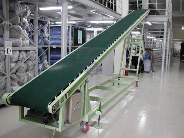 Băng tải hàng là một trong những thiết bị được sử dụng rộng rãi trong công nghiệp