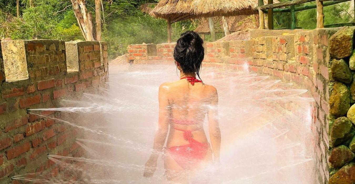 Особая ванна с грязью и лечебными травами