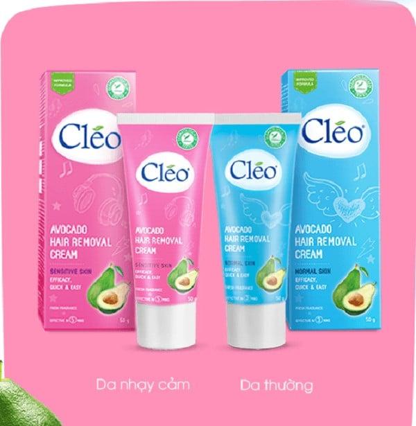 Kem tẩy lông Cleo - xu hướng mới của cô nàng hiện đại