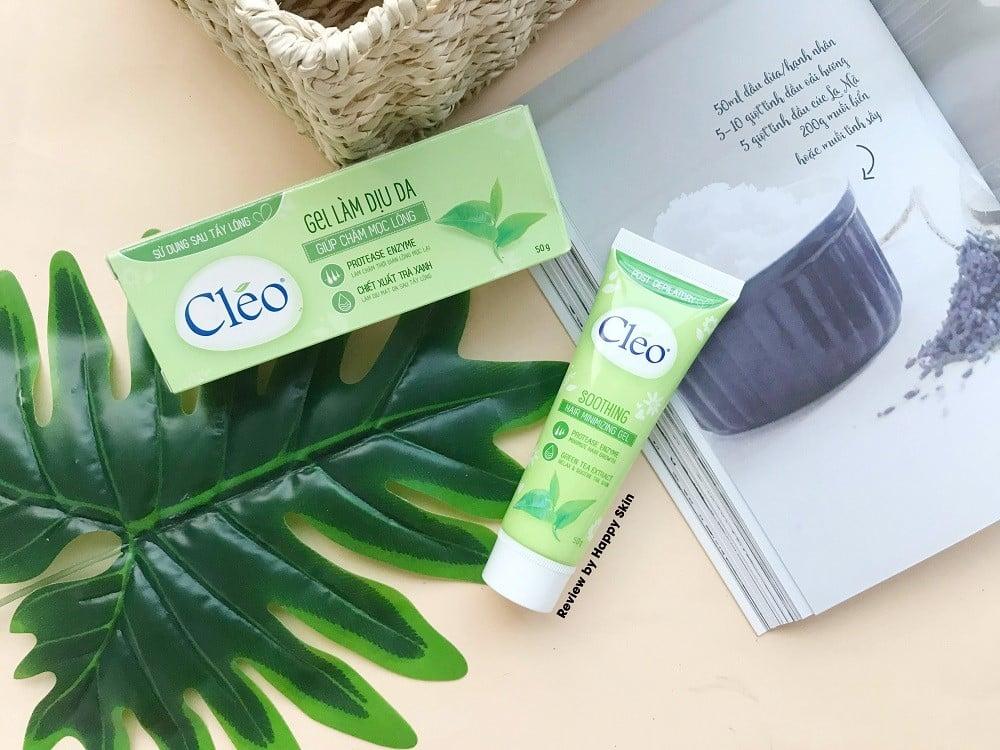 Cléo Soothing Hair Minimizing Hair Gel