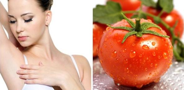 Cách làm thưa lông chân bằng cà chua