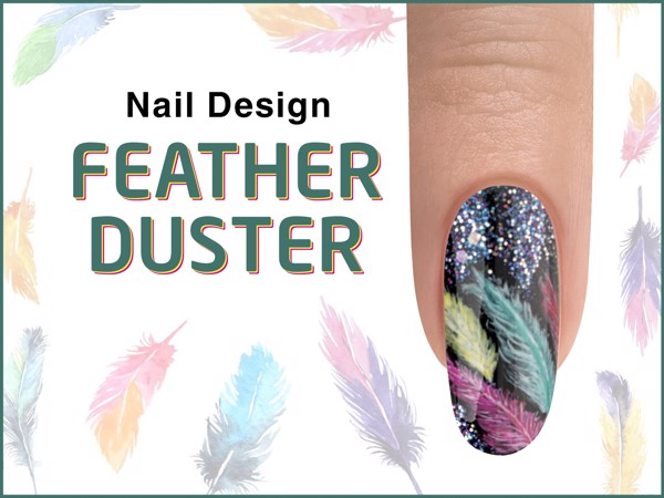 FEATHER DUSTER Nail Design - ROCKETMAN Collection