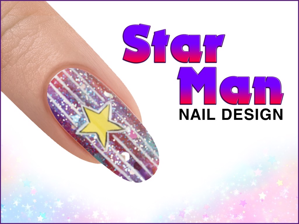 STAR MAN Nail Design - ROCKETMAN Collection