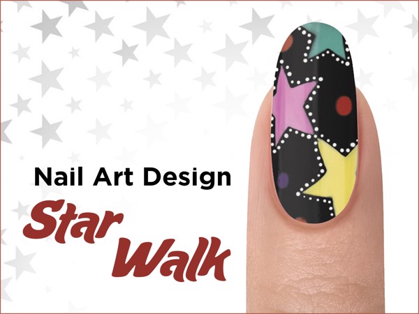 STAR WALK Nail Design - ROCKETMAN Collection
