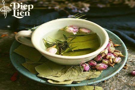 Cách làm và công dụng của trà giảm béo lá sen sơn trà trần bì ý dĩ