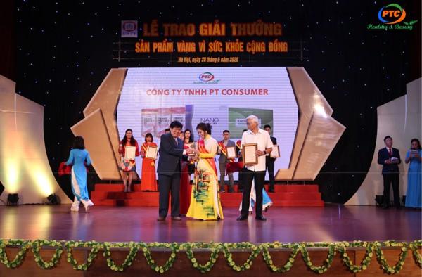 giải thưởng sản phẩm vàng vì sức khỏe cộng đồng