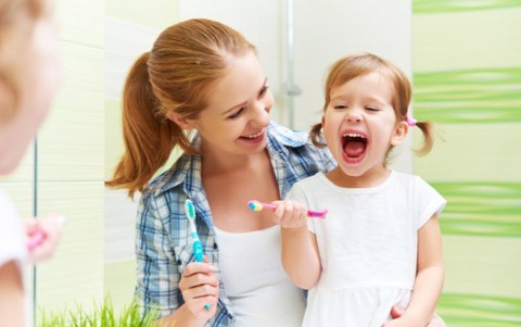 Three steps to developing healthy dental hygiene for your toddler