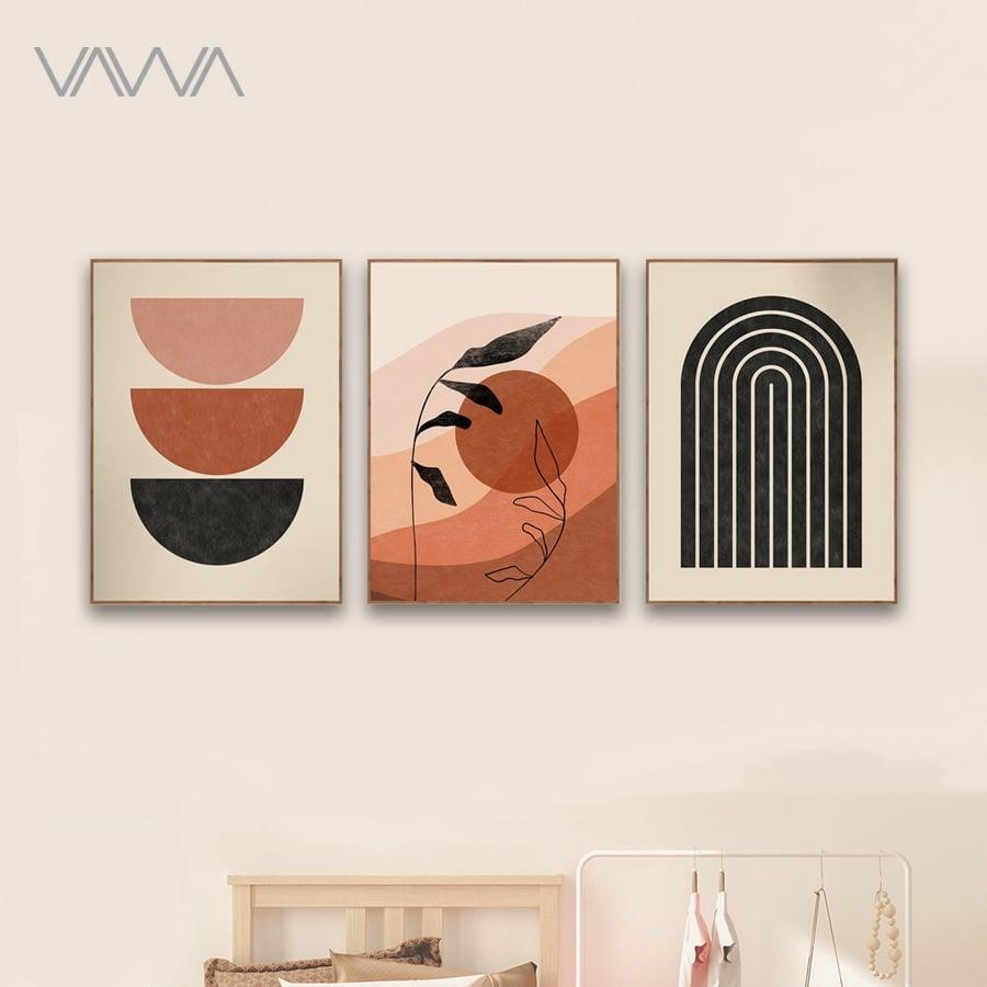 Tranh-Canvas-tối-giản-Minimalist-Tranh-trừu-tượng-phong-cảnh-mặt-trời-mặt-trăng