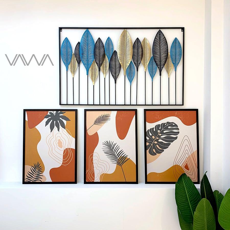 Tranh Canvas trừu tượng tối giản minimalist