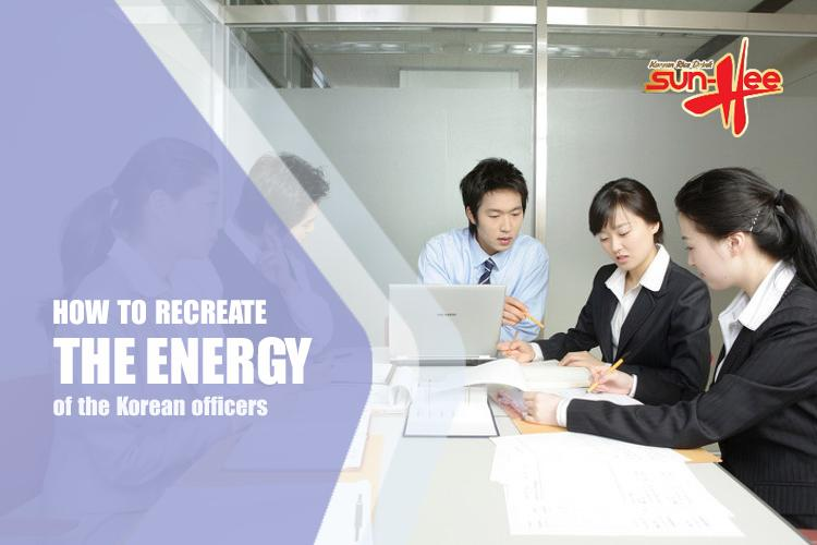 how to renew the energy of the office of korea