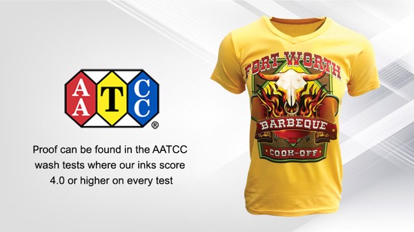 aatcc wash test INNOBELLA TEXTILE brother gt3 only1printing