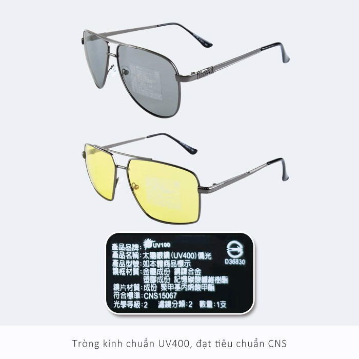 Kính Polarized chống nắng UV100 OB20324