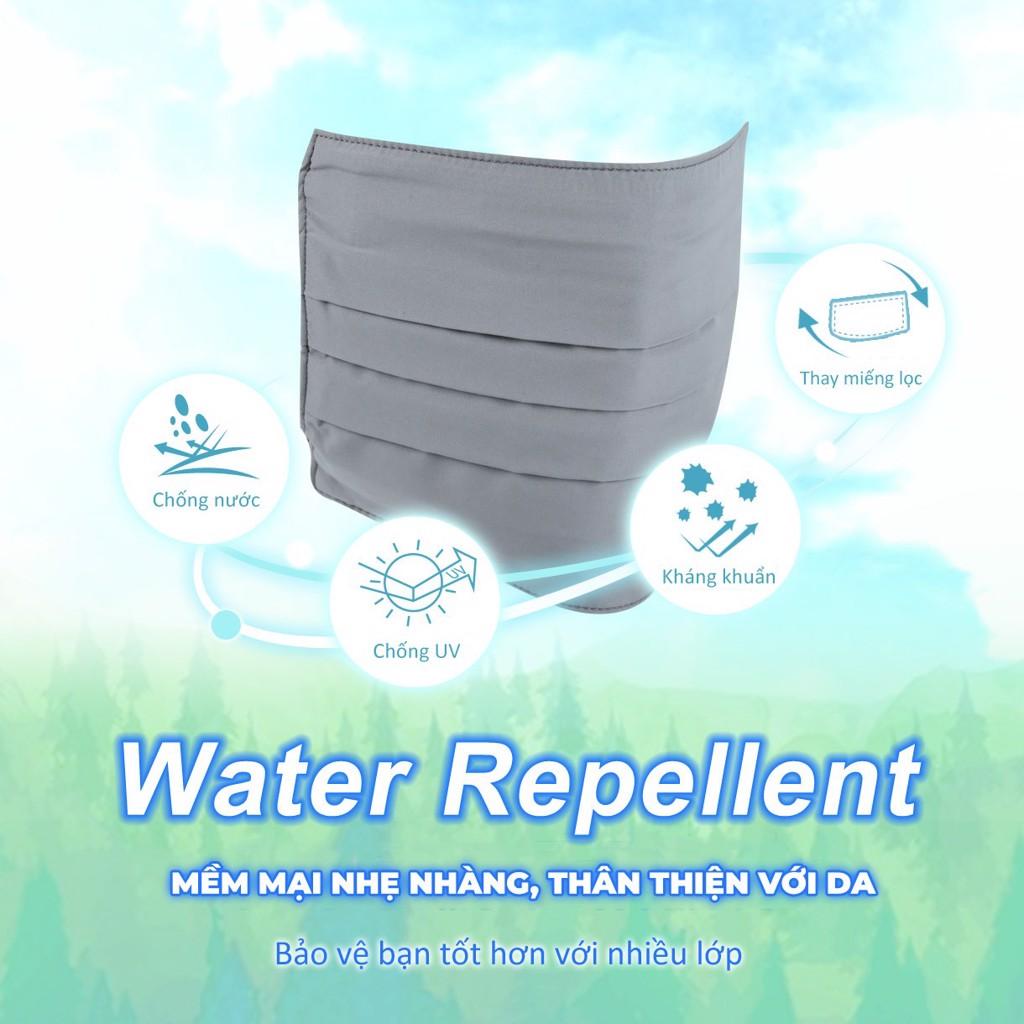 Khẩu trang chống nắng kháng khuẩn UV100 LC20449