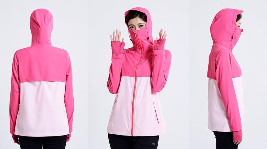 Áo khoác chống nắng nữ UV100 AL 61017