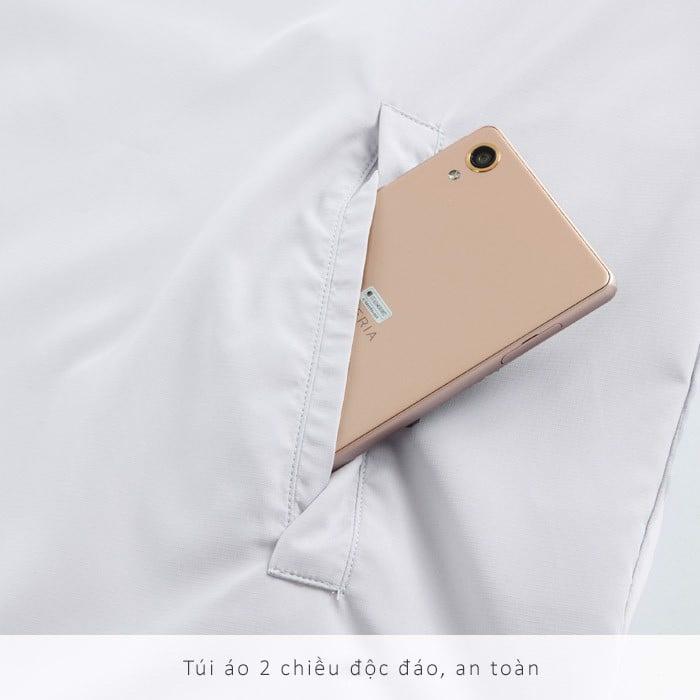 Áo chống nắng nam UV100 AA81017