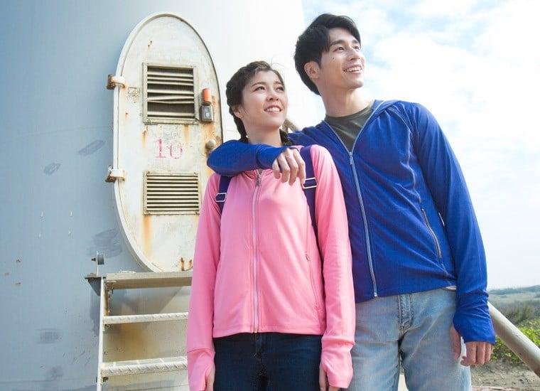 Áo khoác chống tia UV kháng khuẩn nam UV100 AA 81062