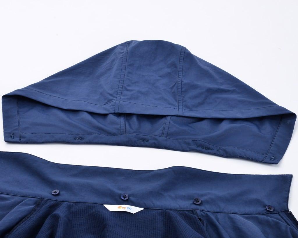 Áo khoác chống tia UV nam UV100 AB 81004