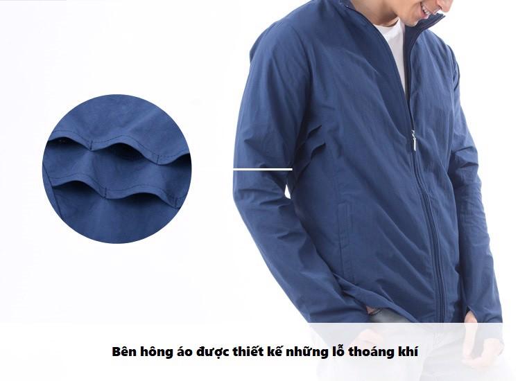 Áo khoác chống nắng nam UV100 AD81014